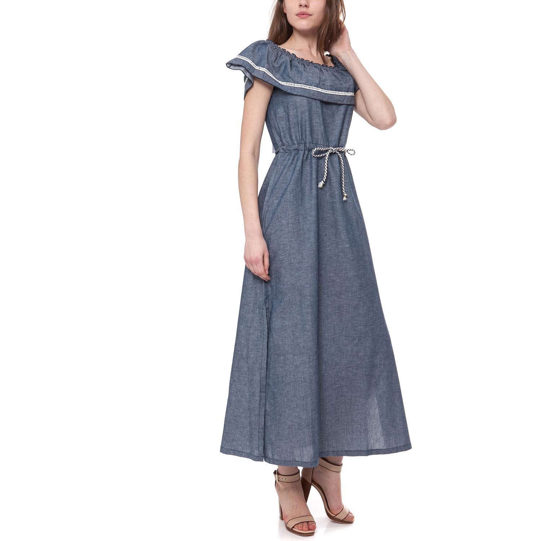 MYMOO - Γυναικείο φόρεμα MYMOO μπλε γυναικεία ρούχα φορέματα μάξι