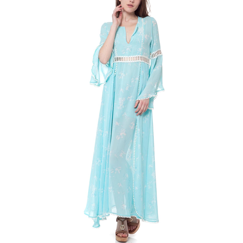 MYMOO - Γυναικείο φόρεμα MYMOO γαλάζιο γυναικεία ρούχα φορέματα μάξι