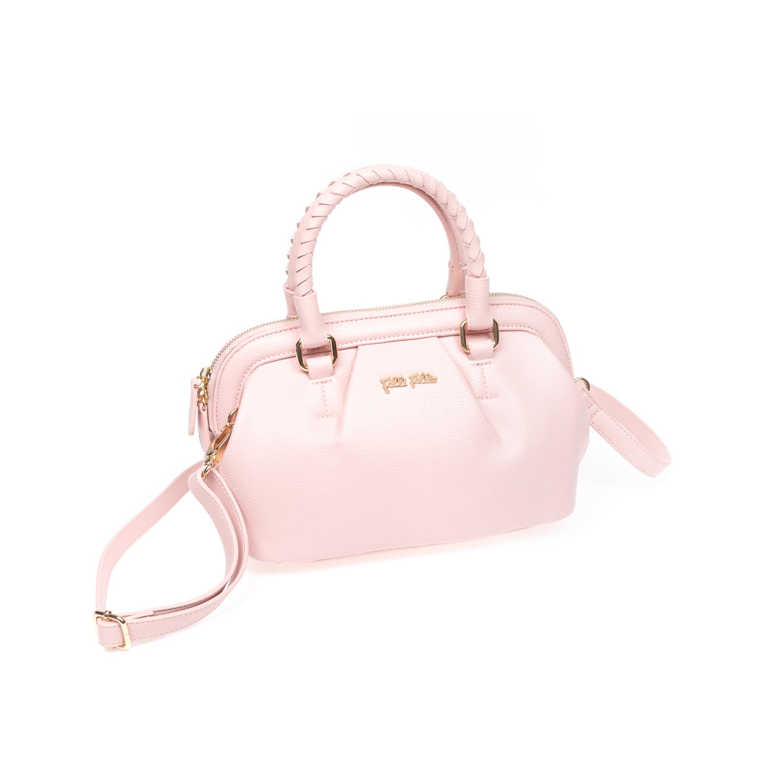 FOLLI FOLLIE - Γυναικεία τσάντα Folli Follie ροζ γυναικεία αξεσουάρ τσάντες σακίδια χειρός