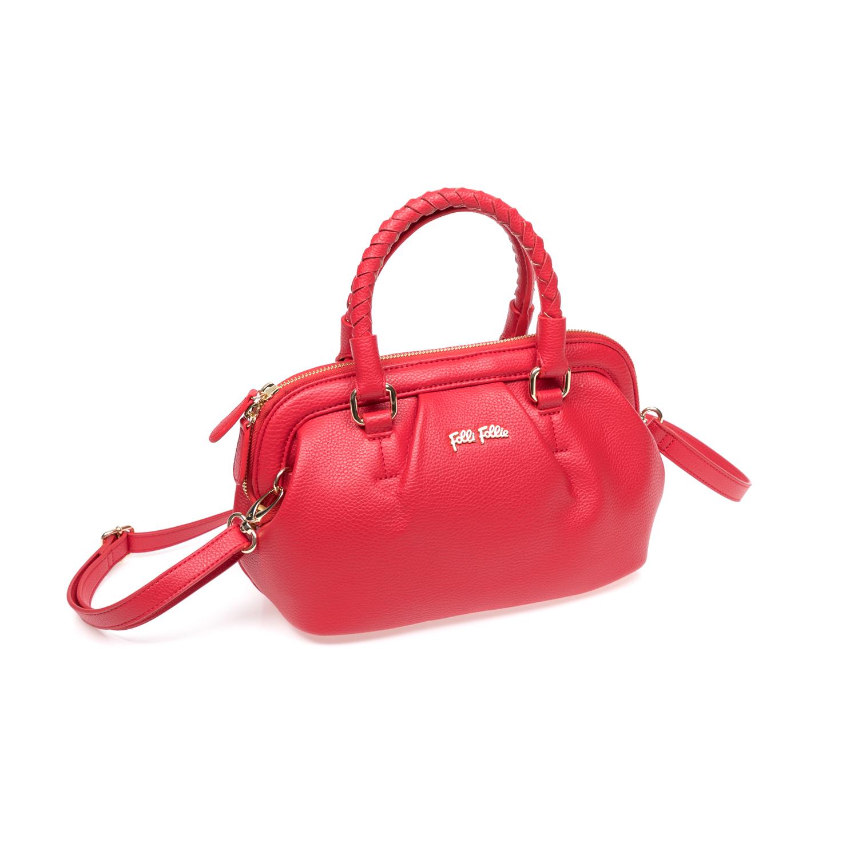 FOLLI FOLLIE – Γυναικεία τσάντα Folli Follie κόκκινη 1583179.0-0000