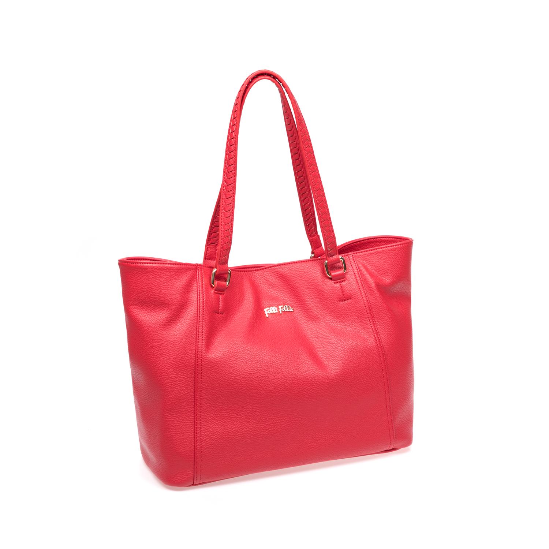FOLLI FOLLIE – Γυναικεία τσάντα Folli Follie κόκκινη 1583188.0-0000