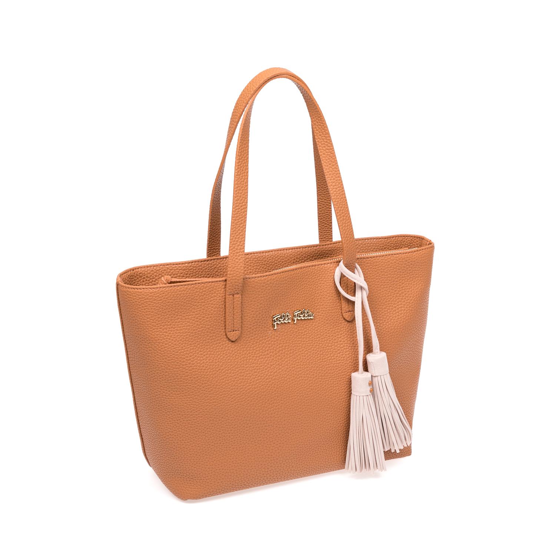 FOLLI FOLLIE – Γυναικεία τσάντα Folli Follie καφέ 1583341.0-0000