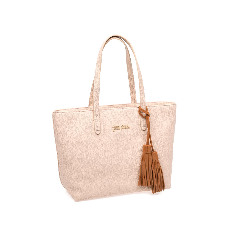 FOLLI FOLLIE – Γυναικεία τσάντα Folli Follie μπεζ 1583342.0-0000