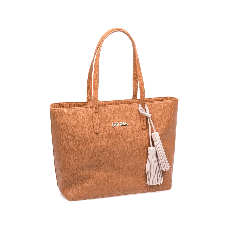FOLLI FOLLIE – Γυναικεία τσάντα Folli Follie καφέ 1583343.0-0000