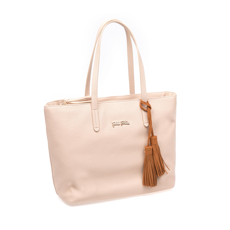 FOLLI FOLLIE – Γυναικεία τσάντα Folli Follie μπεζ 1583344.0-0000
