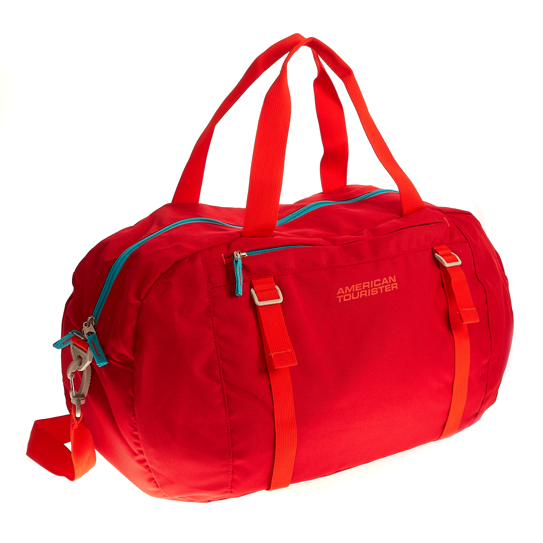 AMERICAN TOURISTER - Τσάντα American Tourister κόκκινη γυναικεία αξεσουάρ είδη ταξιδίου τσάντες