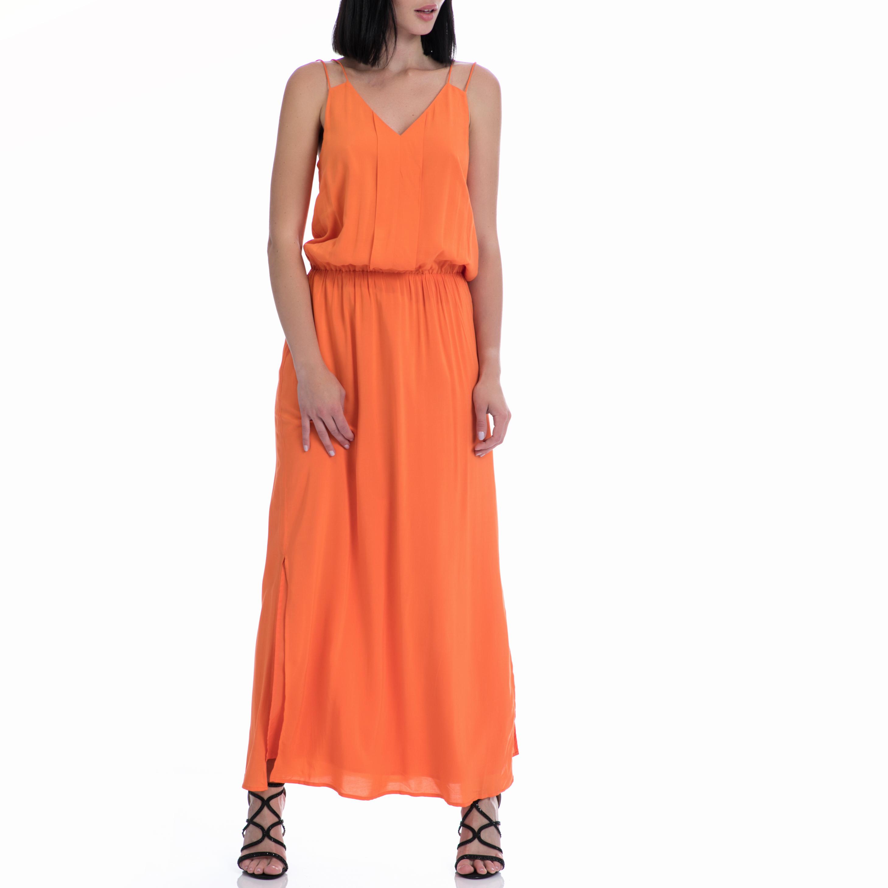 MOTIVI - Φόρεμα MOTIVI πορτοκαλί γυναικεία ρούχα φορέματα μάξι