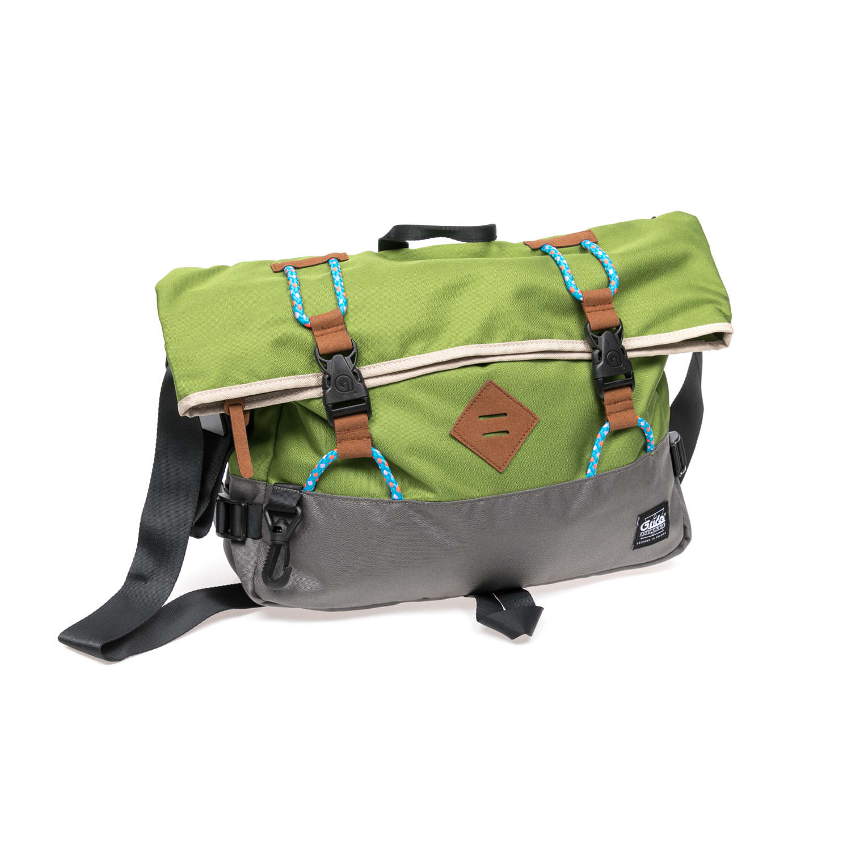 G.RIDE – Τσάντα ώμου G.Ride πράσινη-γκρι 1587706.0-61K4