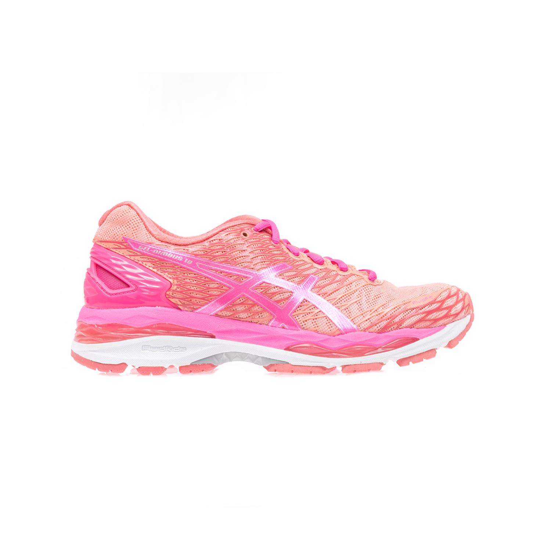 ASICS - Γυναικεία παπούτσια Asics GEL-NIMBUS 18 σομών-πορτοκαλί γυναικεία παπούτσια αθλητικά running