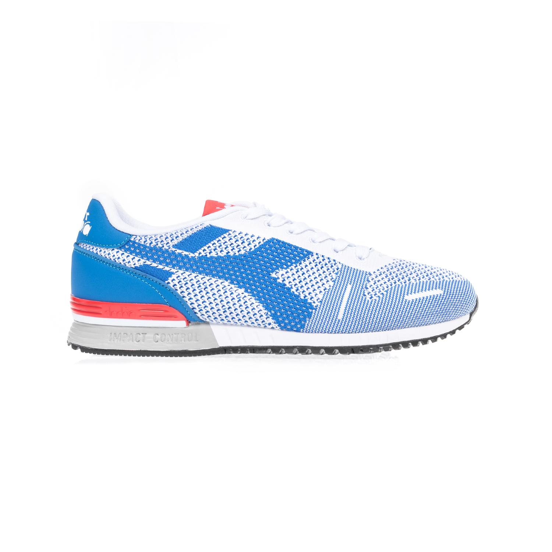 DIADORA - Unisex sneakers DIADORA λευκά-μπλε γυναικεία παπούτσια sneakers