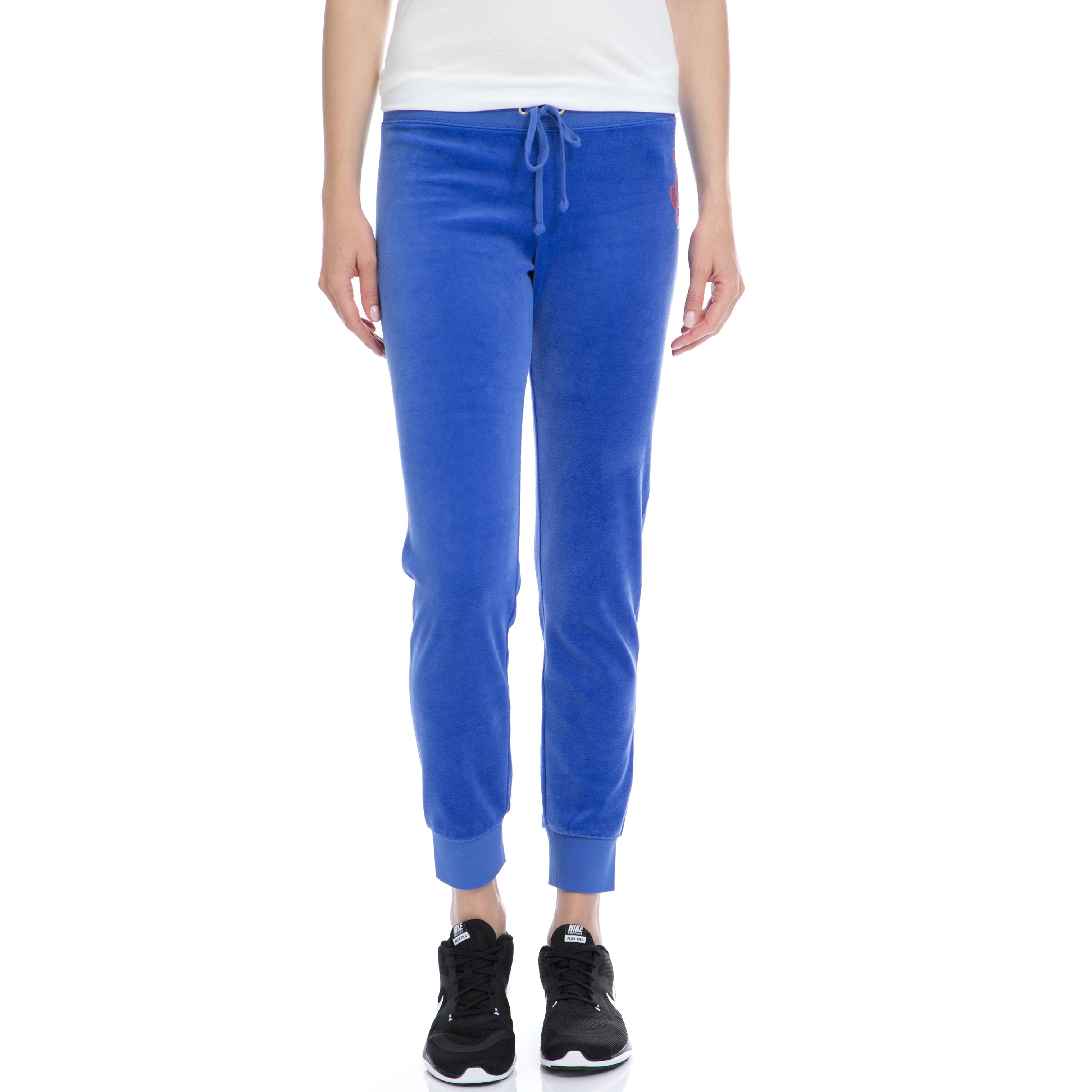 JUICY COUTURE – Γυναικείο παντελόνι Juicy Couture μπλε