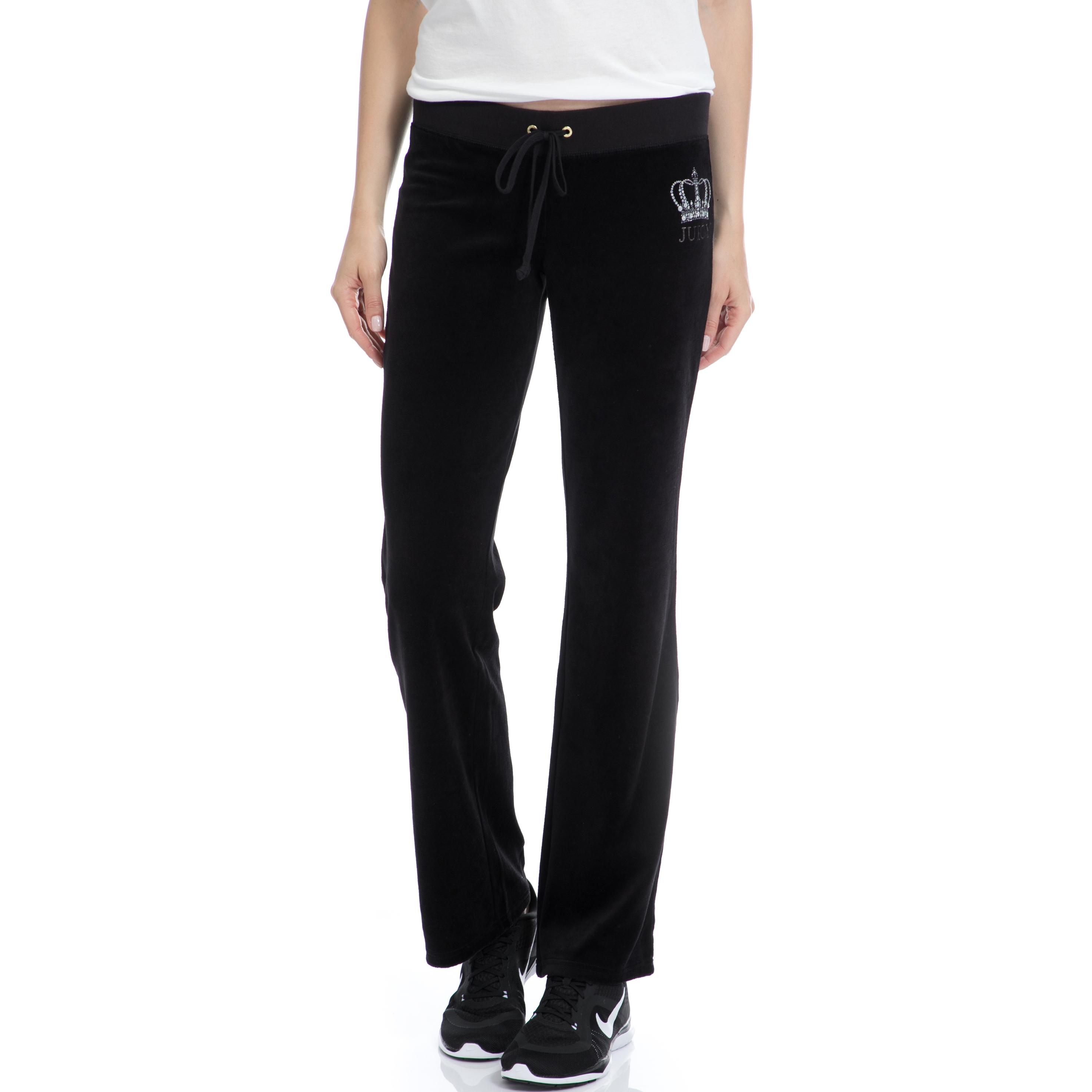 JUICY COUTURE – Γυναικείο παντελόνι Juicy Couture μαύρο