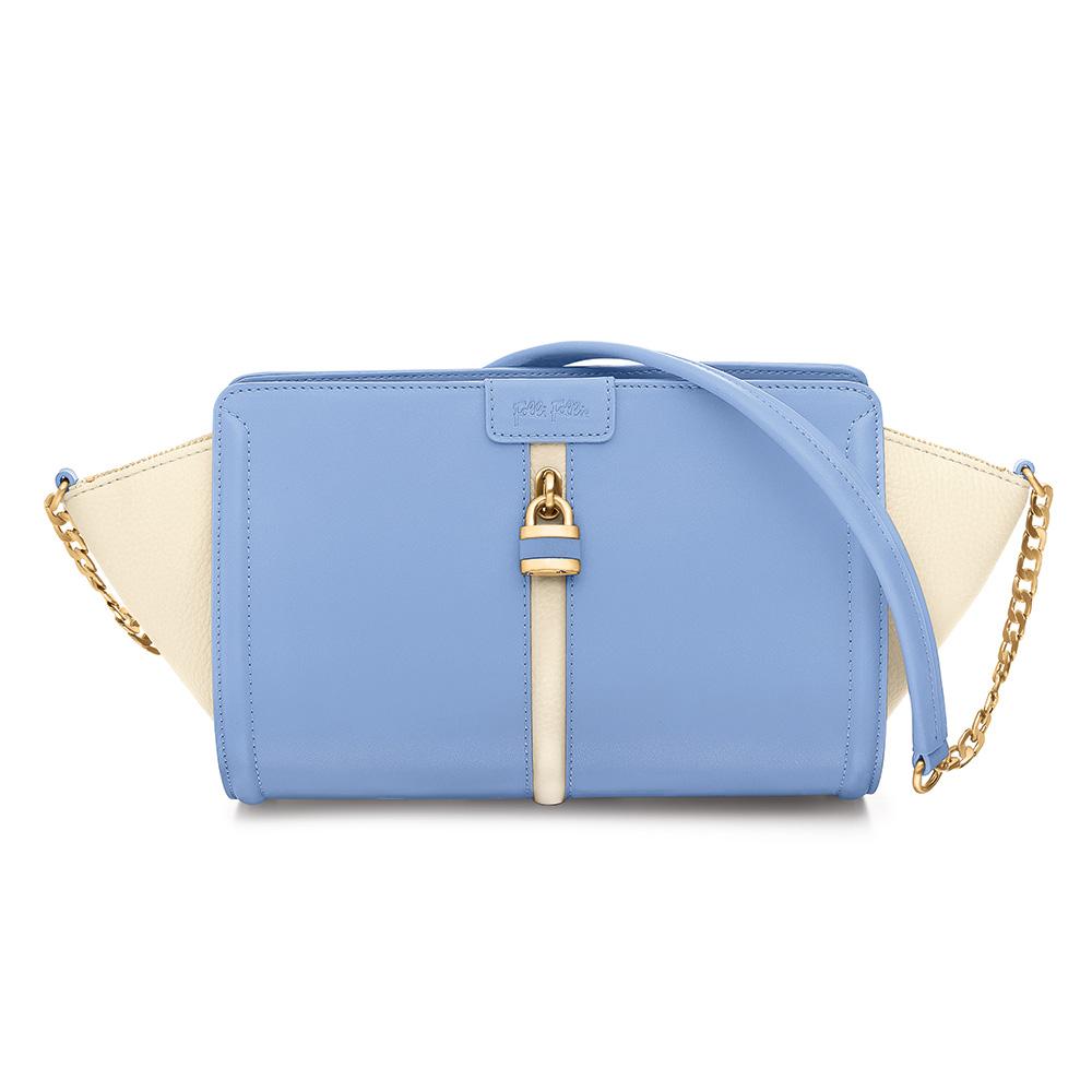 FOLLI FOLLIE – Γυναικεία τσάντα FOLLI FOLLIE μπλε 1595260.0-0000