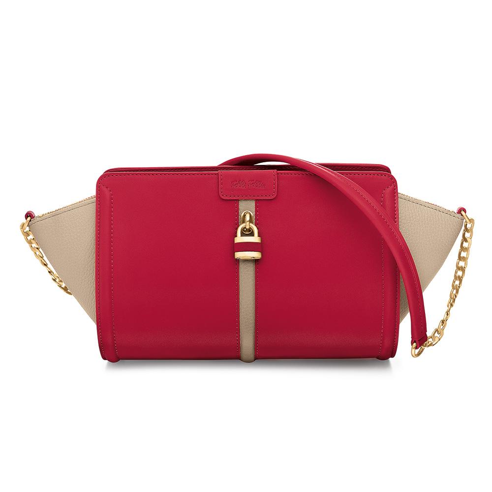 FOLLI FOLLIE – Γυναικεία τσάντα FOLLI FOLLIE κόκκινη 1595261.0-0000