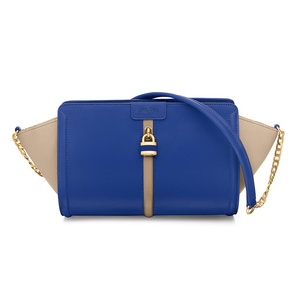 FOLLI FOLLIE – Γυναικεία τσάντα FOLLI FOLLIE μπλε 1595262.0-0000