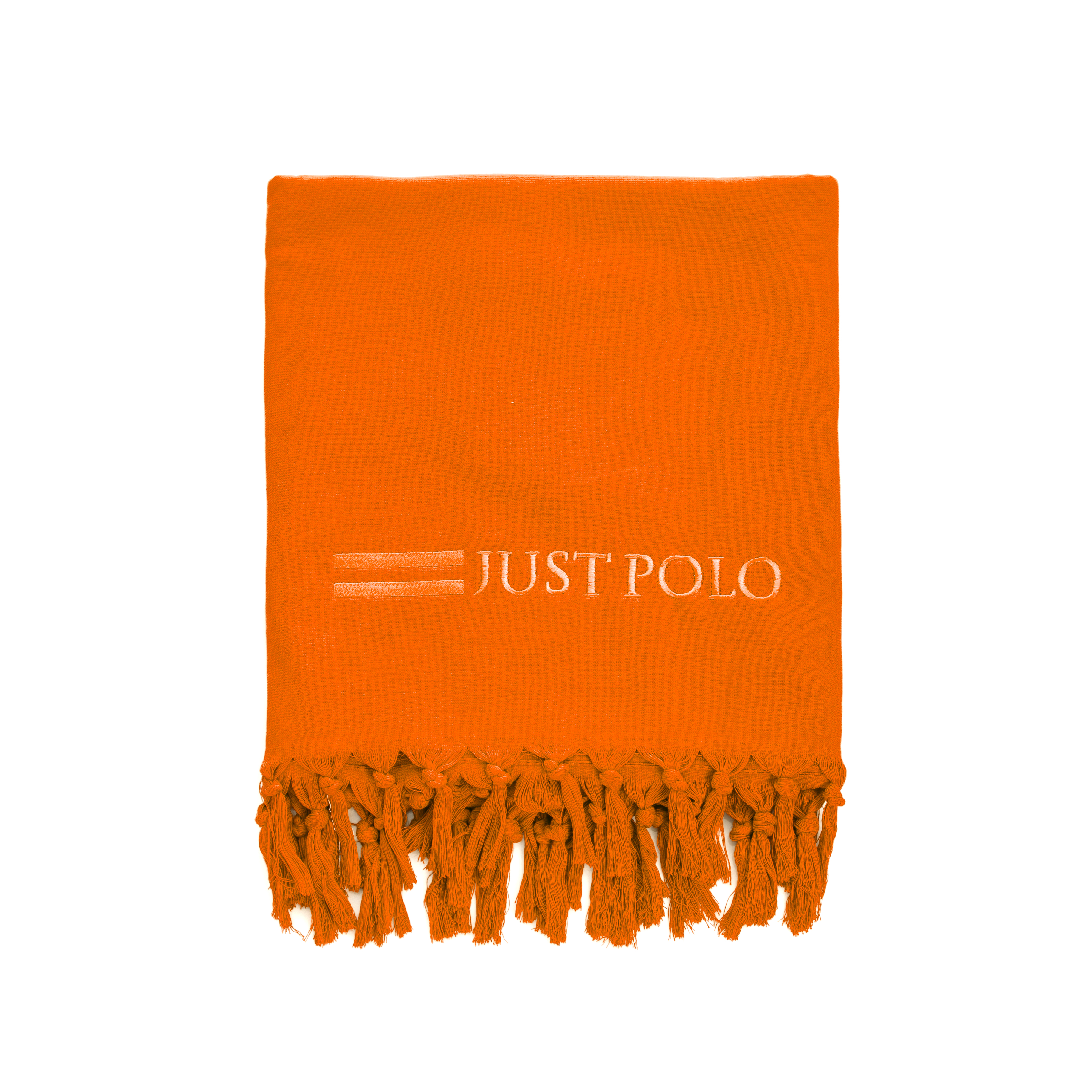 JUST POLO – Πετσέτα θαλάσσης Just Polo πορτοκαλί
