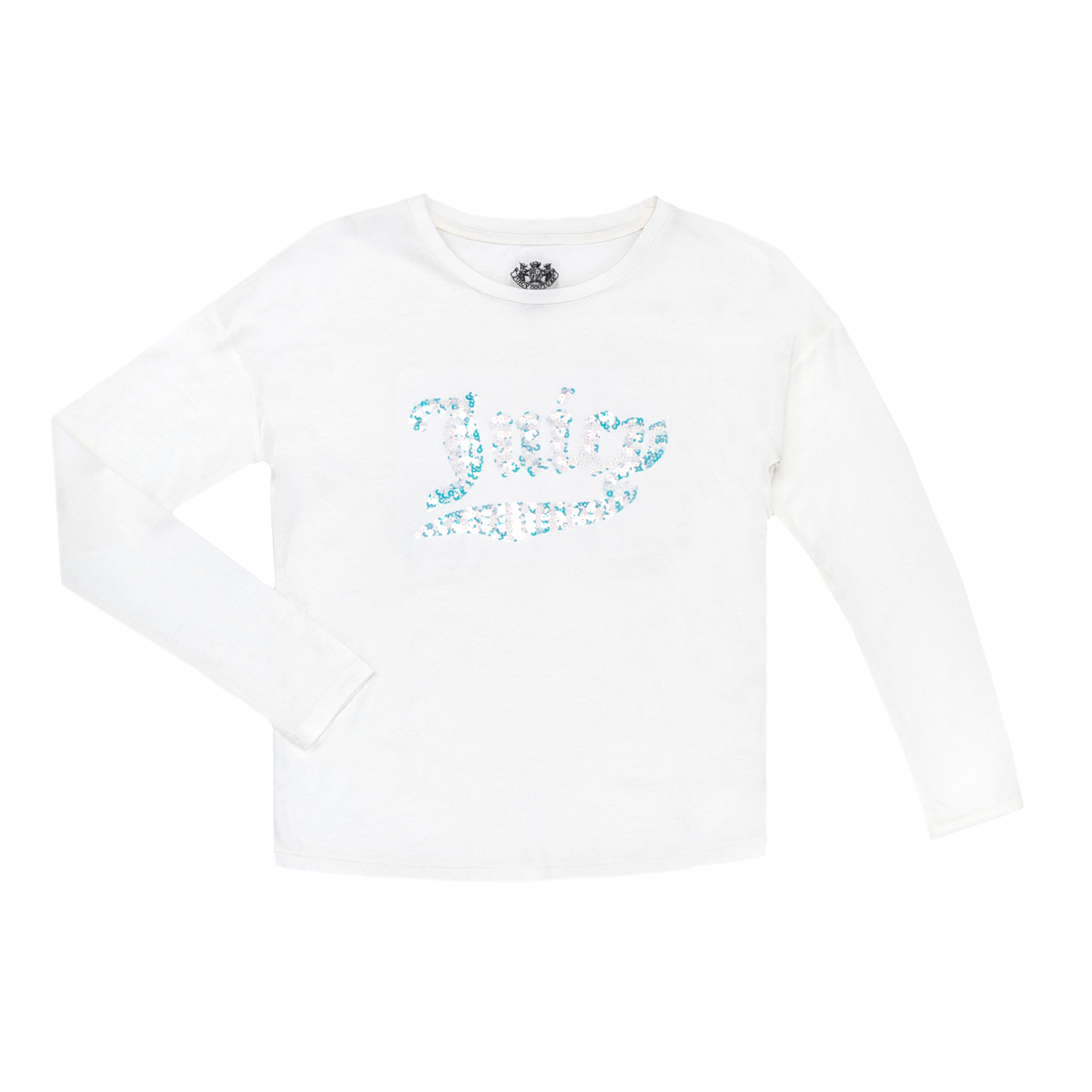 JUICY COUTURE KIDS - Παιδική μπλούζα JUICY COUTURE KIDS άσπρη