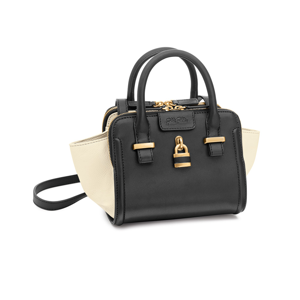 FOLLI FOLLIE – Γυναικεία τσάντα FOLLI FOLLIE μαύρη 1601571.0-0000