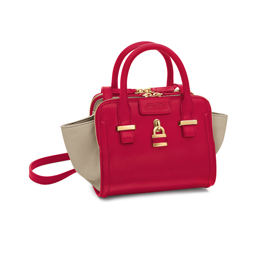 FOLLI FOLLIE – Γυναικεία τσάντα FOLLI FOLLIE κόκκινη 1601572.0-0000