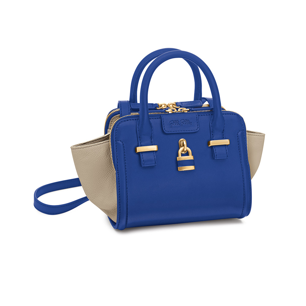FOLLI FOLLIE – Γυναικεία τσάντα FOLLI FOLLIE μπλε 1601573.0-0000