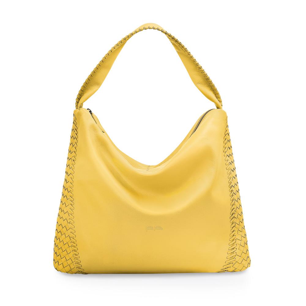 FOLLI FOLLIE – Γυναικεία τσάντα FOLLI FOLLIE κίτρινη 1601578.0-0000