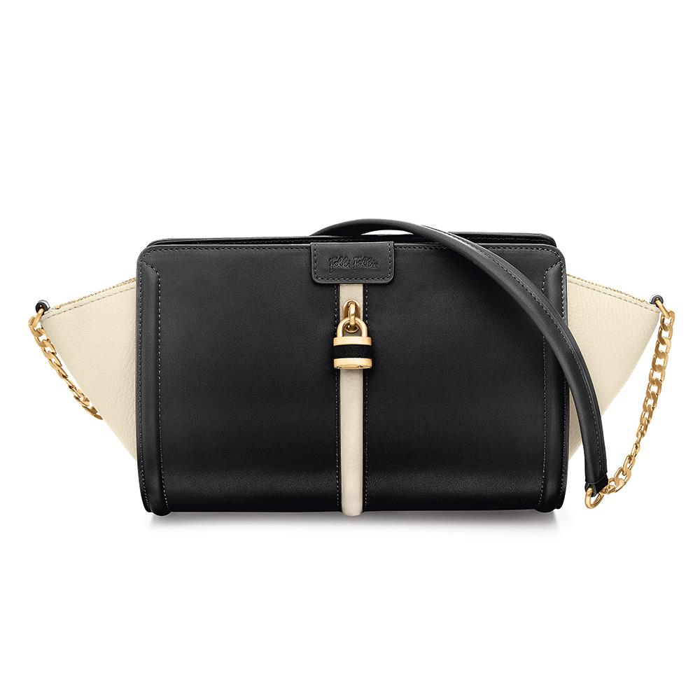 FOLLI FOLLIE – Γυναικεία τσάντα FOLLI FOLLIE μαύρη 1601597.0-0000