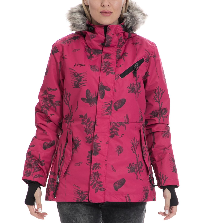 EMERSON - Γυναικείο μπουφάν EMERSON ροζ