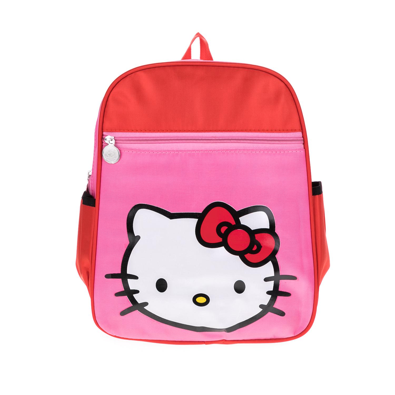 MOOD MAKERS - Τσάντα πλάτης Mood Makers κόκκινη-ροζ