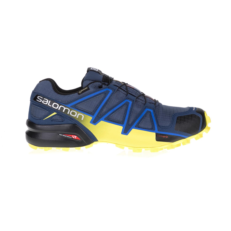 SALOMON - Ανδρικά παπούτσια TRAIL RUNNING SHOES SPEEDCROS SALOMON μπλε-κίτρινα αθλητικά