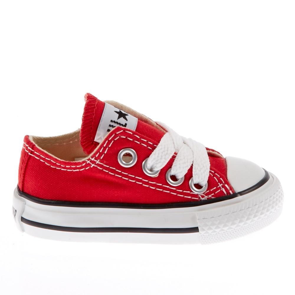 CONVERSE - Βρεφικά παπούτσια Chuck Taylor κόκκινα