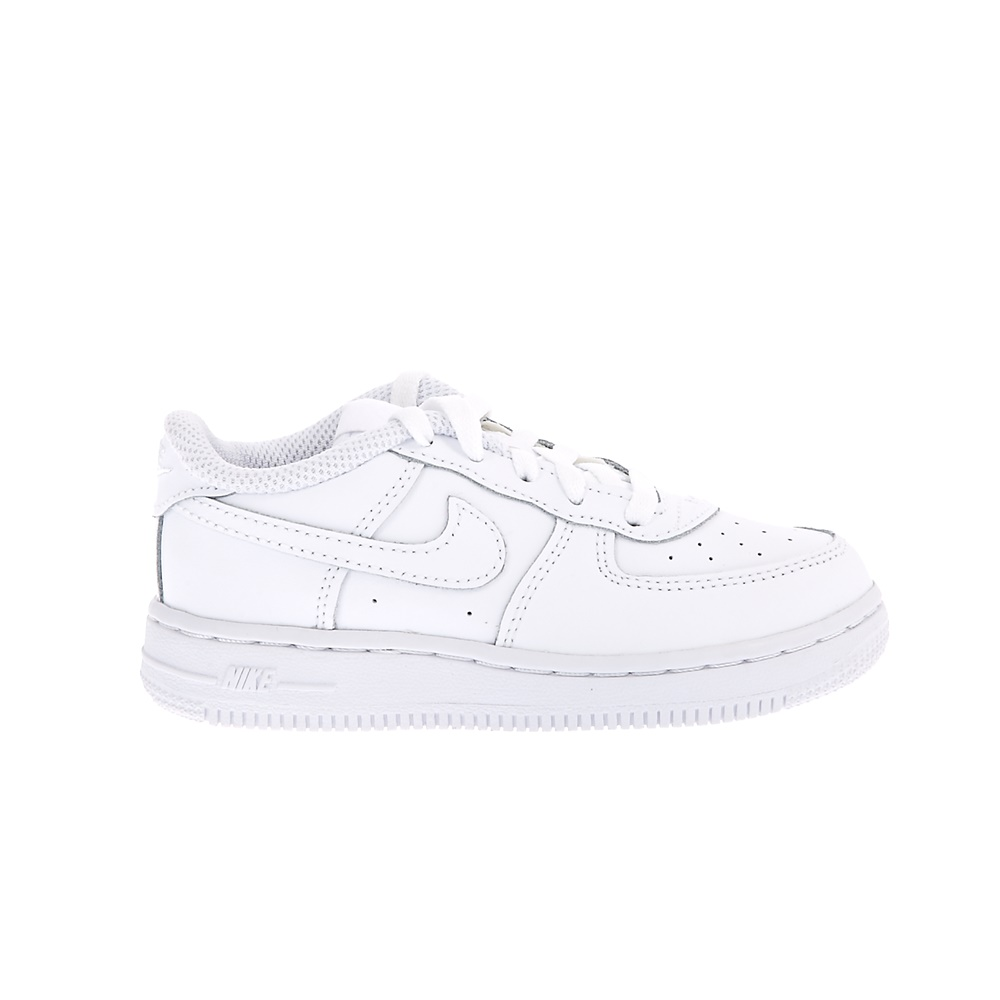 NIKE – Βρεφικά παπούτσια NIKE AIR FORCE 1 λευκά