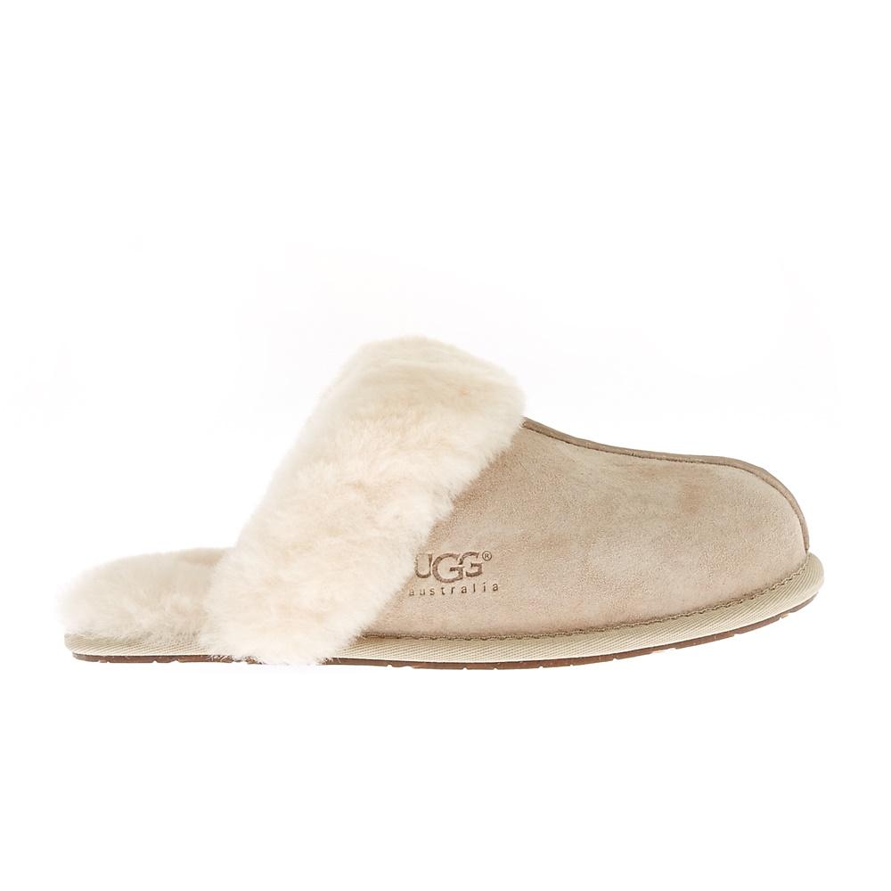 UGG AUSTRALIA - Γυναικείες παντόφλες Ugg Australia μπεζ γυναικεία παπούτσια παντόφλες