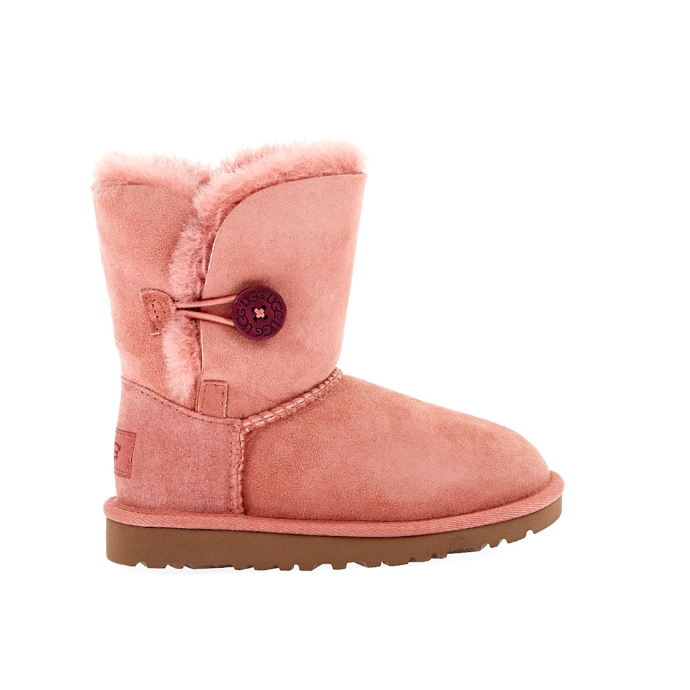 UGG AUSTRALIA - Βρεφικά μποτάκια Ugg Australia ροζ παιδικά baby παπούτσια μπότες μποτάκια