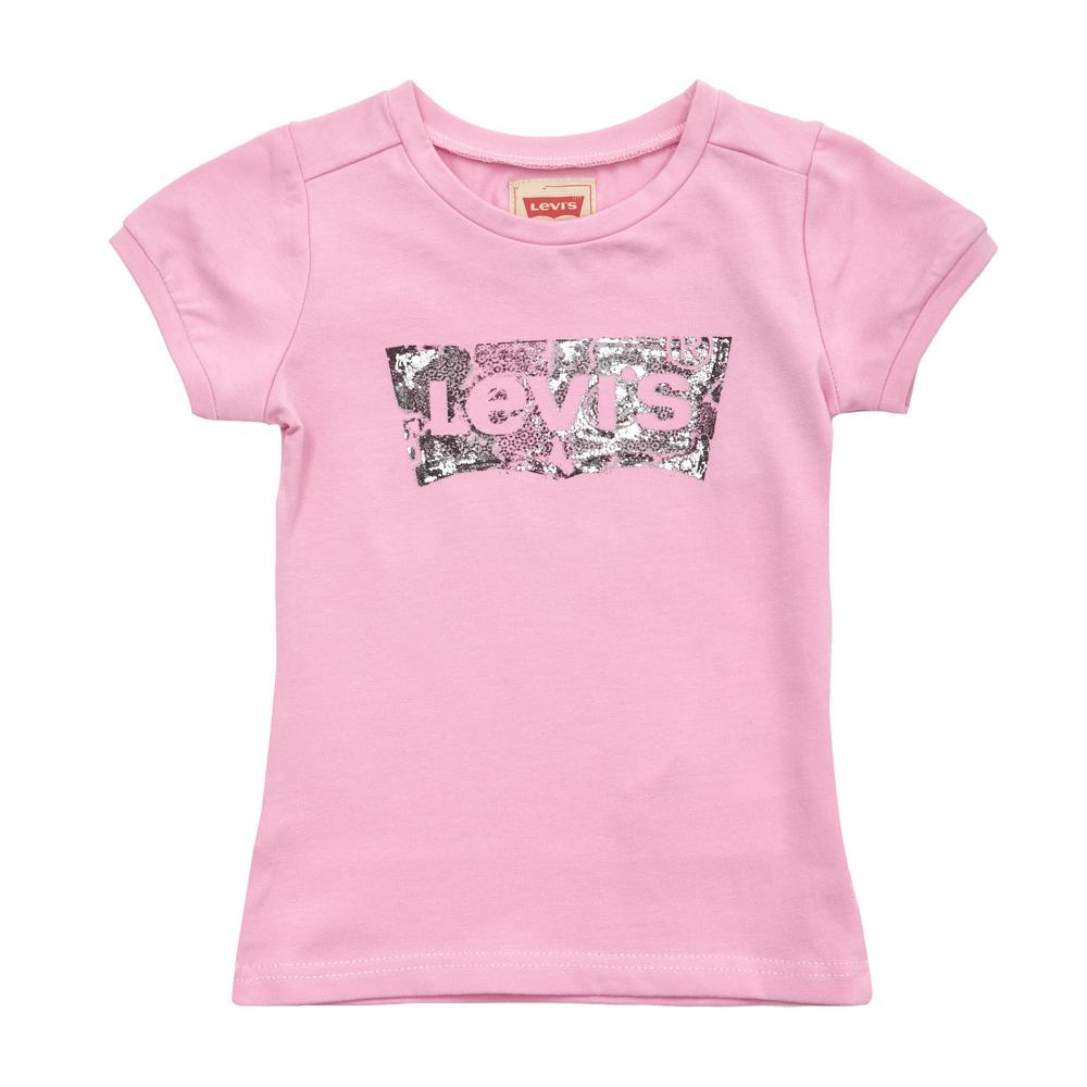 LEVI'S KIDS - Παιδική μπλούζα Levi's Kids ροζ