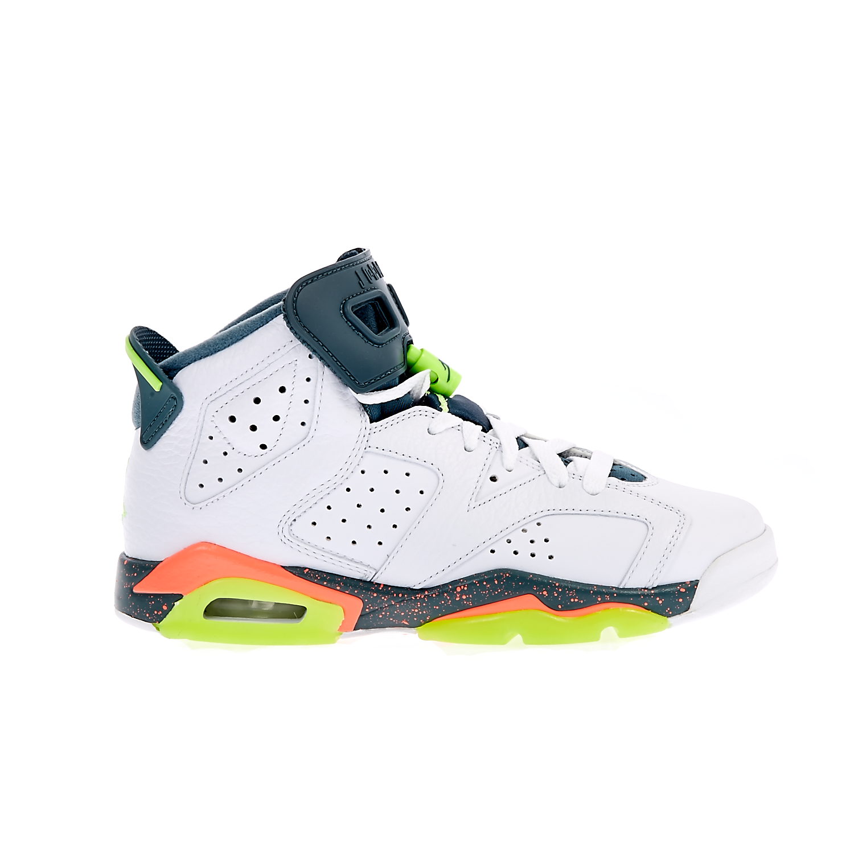 NIKE - Παιδικά παπούτσια NIKE AIR JORDAN 6 RETRO λευκά