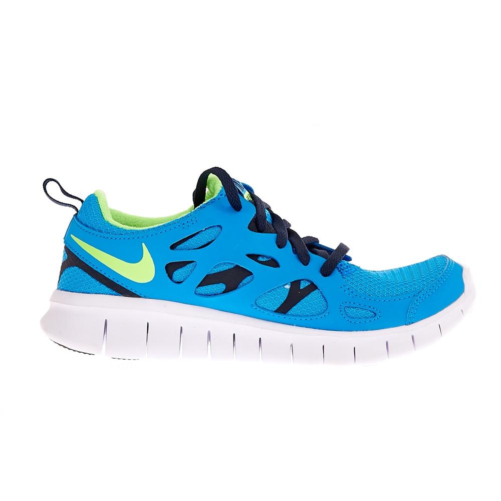 175fda4dd49 NIKE - Παιδικά αθλητικά παπούτσια NIKE FREE RUN 2 τυρκουάζ
