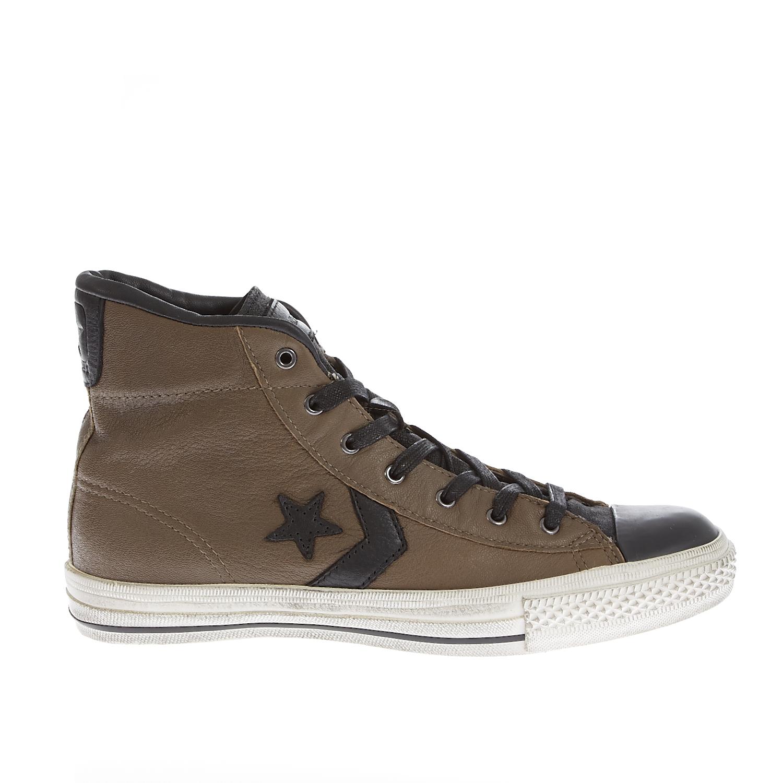 CONVERSE - Unisex μποτάκια HTG MID JV Star Player καφέ γυναικεία παπούτσια sneakers