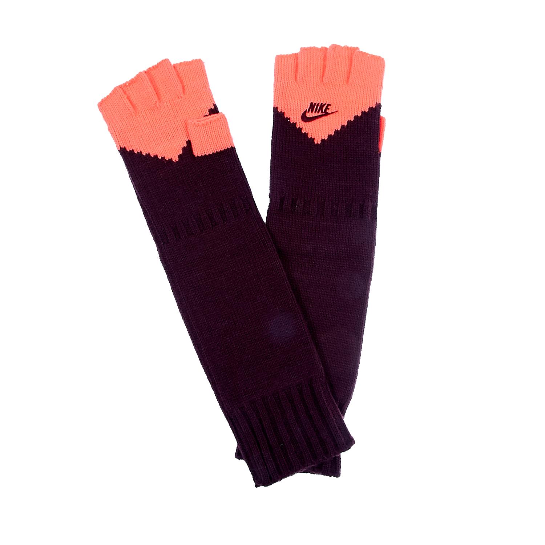 NIKE - Γάντια Nike μωβ-ροζ γυναικεία αξεσουάρ φουλάρια κασκόλ γάντια