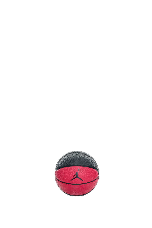 NIKE – Μπάλα μπάσκετ JORDAN MINI (3) μάυρη – κόκκινη