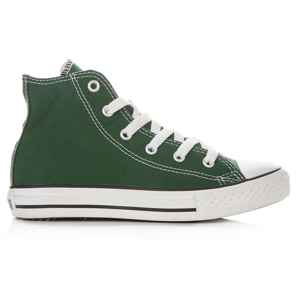 CONVERSE – Παιδικά μποτάκια Chuck Taylor πράσινα