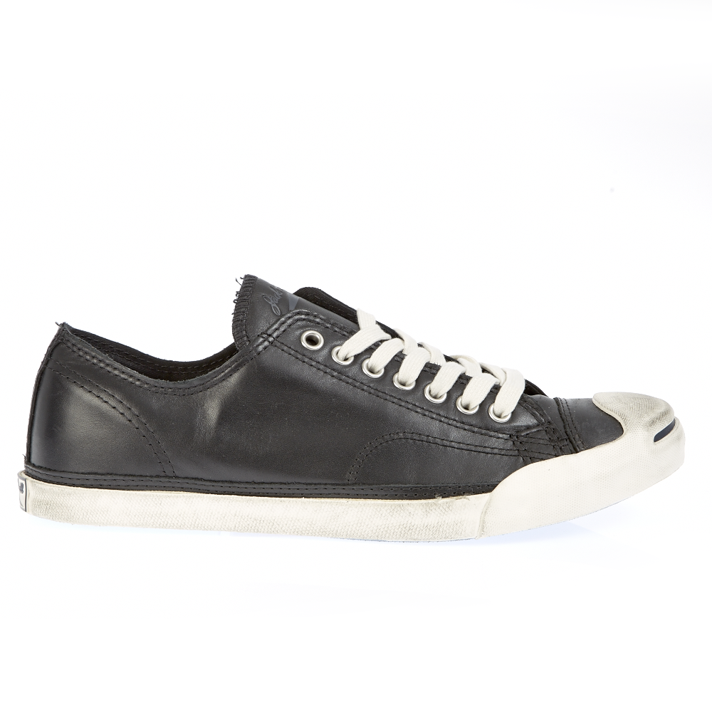 CONVERSE - Παπούτσια Jack Purcell μαύρα ανδρικά παπούτσια sneakers