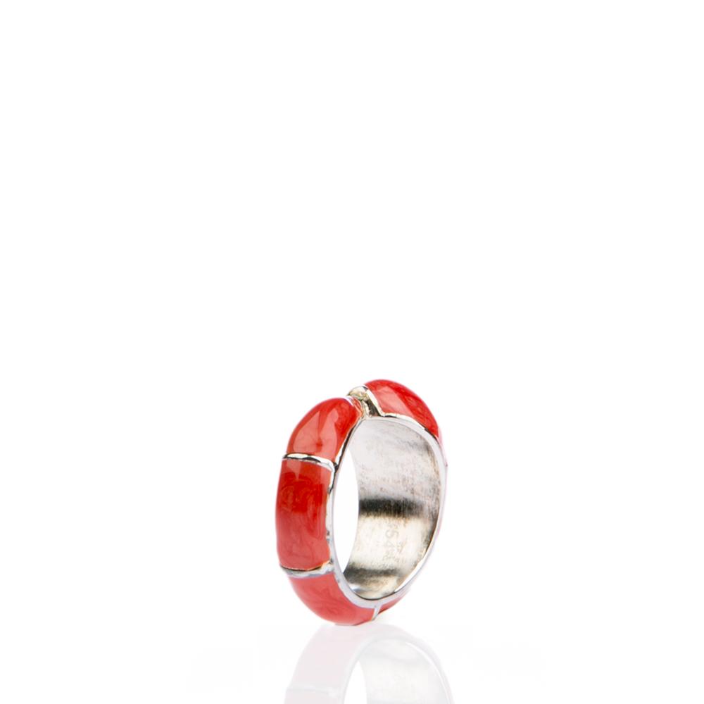 FOLLI FOLLIE – Γυναικείο δαχτυλίδι Folli Follie κόκκινο