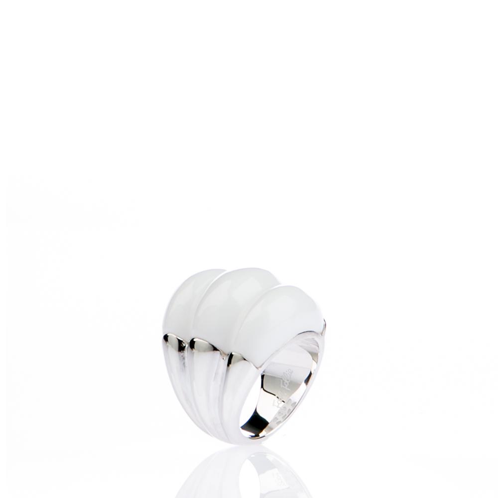 FOLLI FOLLIE – Γυναικείο δαχτυλίδι Folli Follie λευκό