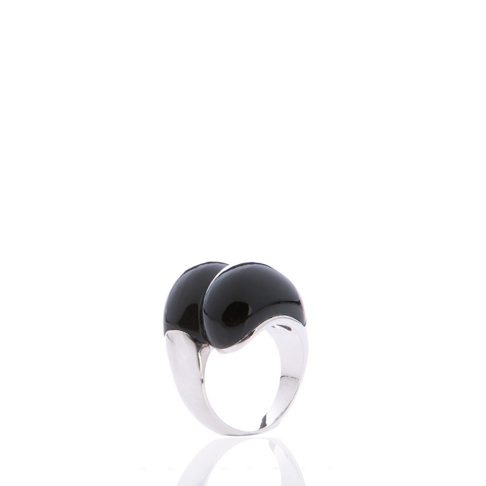 FOLLI FOLLIE – Γυναικείο δαχτυλίδι Folli Follie μαύρο