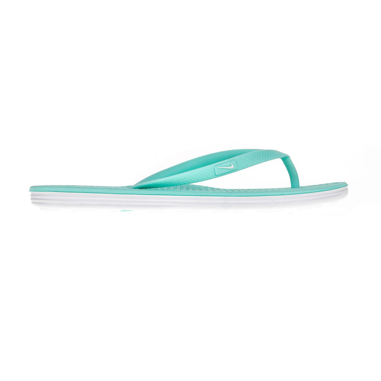 NIKE – Γυναικείες σαγιονάρες Nike SOLARSOFT THONG 2 γαλάζιες