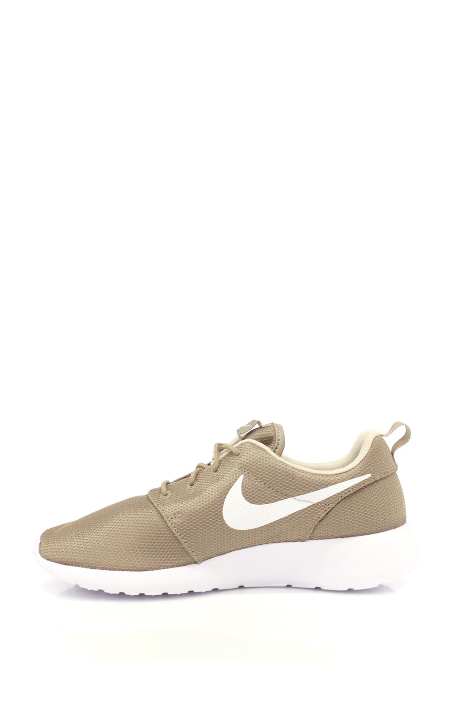 NIKE – Αντρικα αθλητικά παπούτσια NIKE ROSHE ONE λαδί-άσπρα