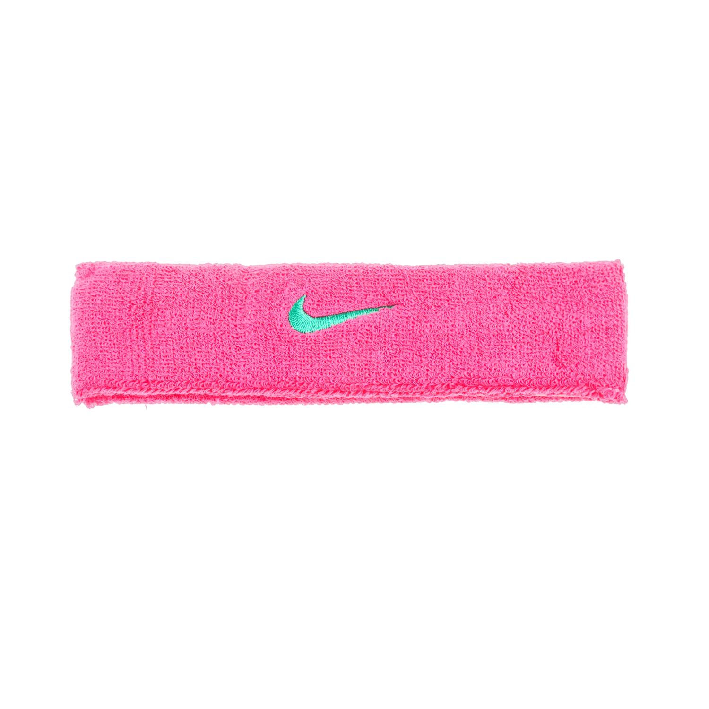 NIKE ACCESSORIES - Αθλητική κορδέλα NIKE SWOOSH HEADBAND ροζ γυναικεία αξεσουάρ αθλητικά είδη εξοπλισμός