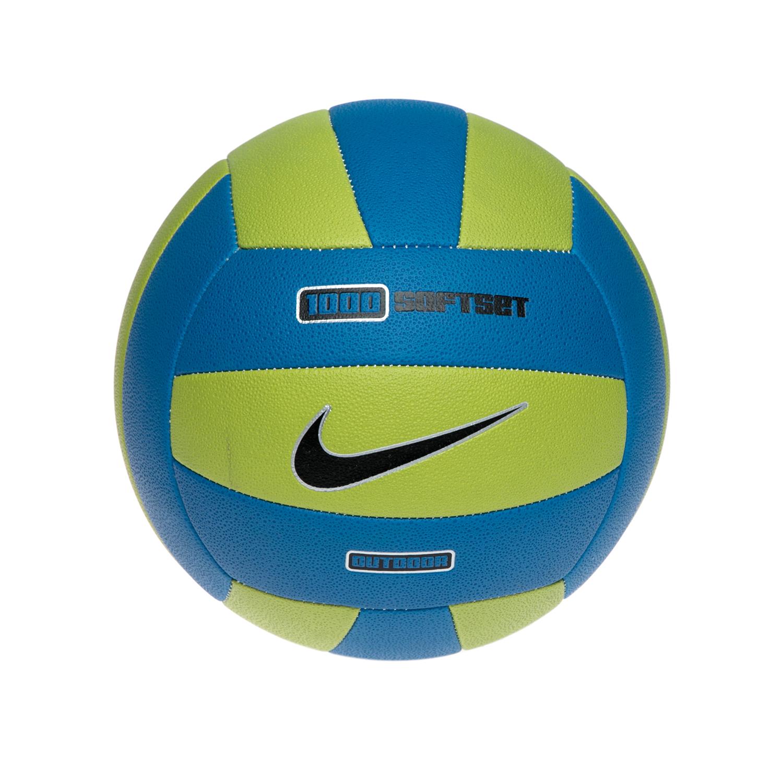 NIKE - Μπάλα βόλεϊ NIKE 1000 SOFTSET OUTDOOR VOLL μπλε-πράσινη παιδικά girls αξεσουάρ αθλητικά είδη