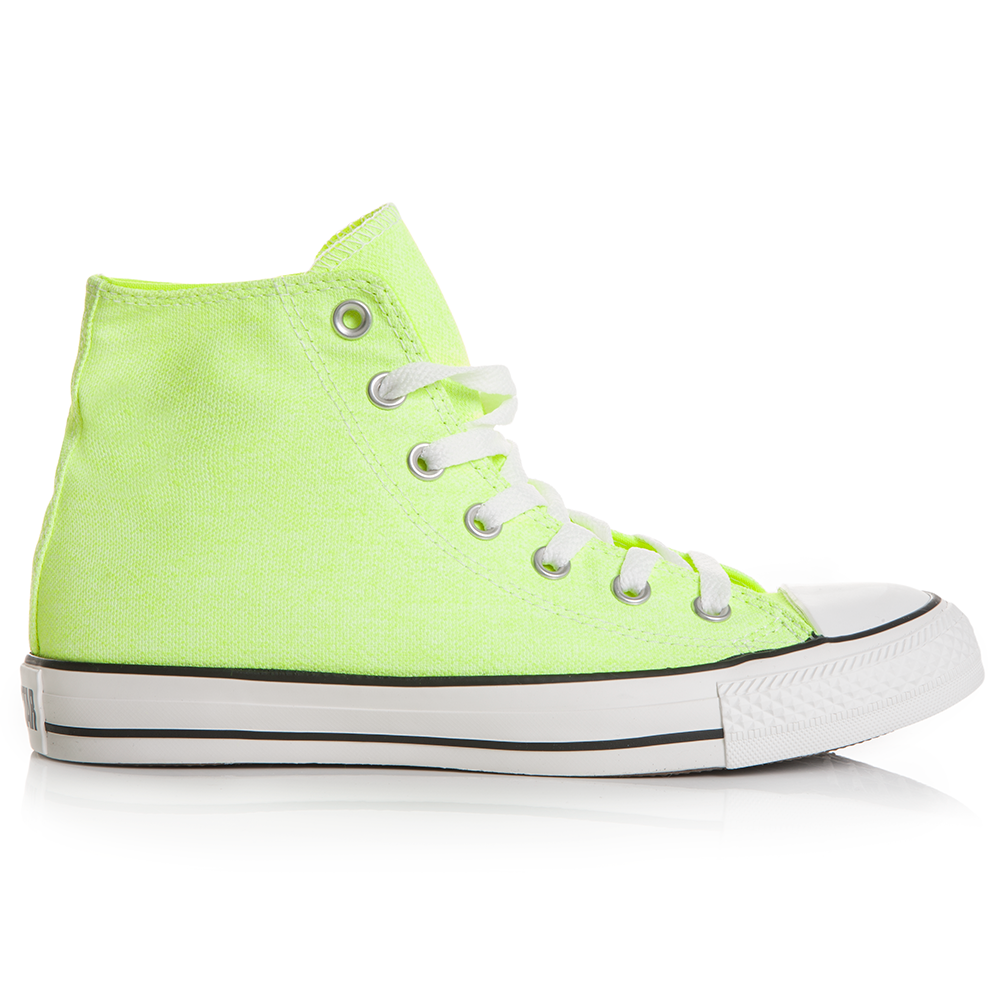 CONVERSE - Unisex μποτάκια Chuck Taylor κίτρινα ανδρικά παπούτσια sneakers