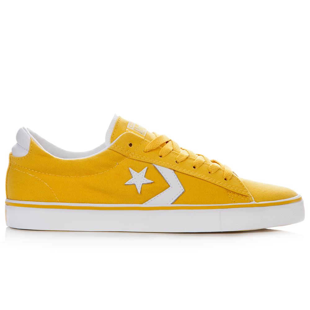 CONVERSE – Unisex παπούτσια Pro Leather Vulc κίτρινα